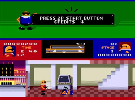 скриншот Bonanza Bros. 1