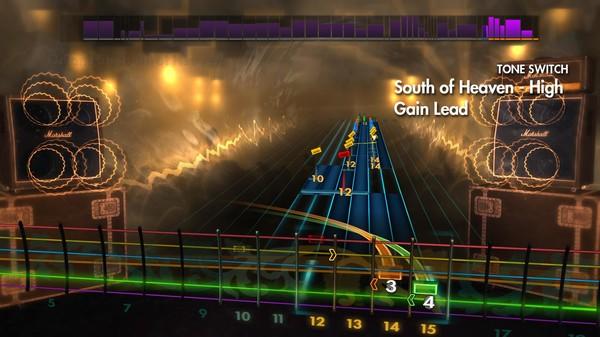 Скриншот №3 к Rocksmith® 2014 – Slayer Song Pack