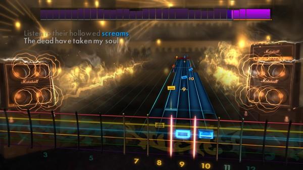 Скриншот №2 к Rocksmith® 2014 – Slayer Song Pack