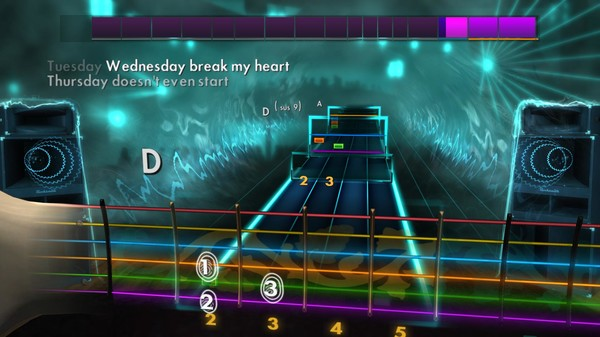 "Скриншот №3 к Rocksmith® 2014 – The Cure - ""Friday Im In Love"""