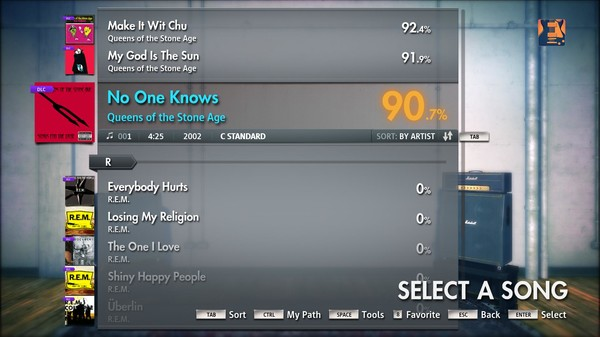 "Скриншот №4 к Rocksmith® 2014 – Queens Of The Stone Age - ""No One Knows"""