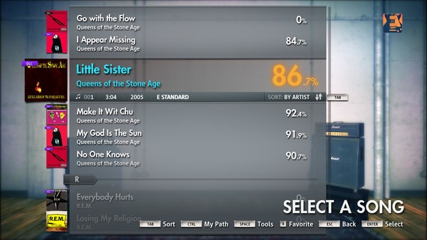 """Скриншот №3 к Rocksmith® 2014 – Queens Of The Stone Age - """"Little Sister"""""""