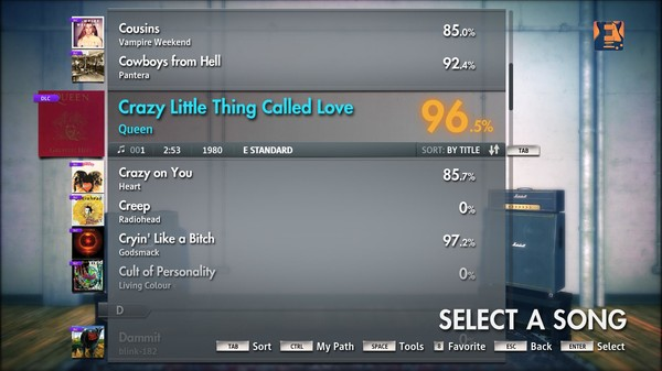 """Скриншот №5 к Rocksmith® 2014 – Queen - """"Crazy Little Thing Called Love"""""""