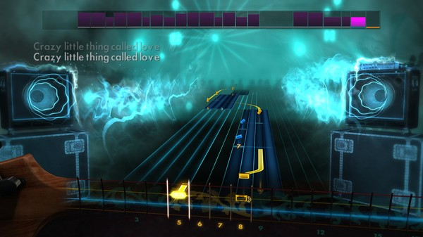 """Скриншот №3 к Rocksmith® 2014 – Queen - """"Crazy Little Thing Called Love"""""""
