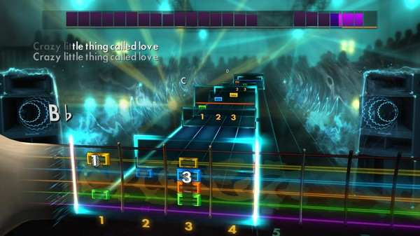 """Скриншот №2 к Rocksmith® 2014 – Queen - """"Crazy Little Thing Called Love"""""""