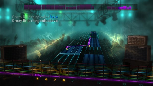 """Скриншот №1 к Rocksmith® 2014 – Queen - """"Crazy Little Thing Called Love"""""""