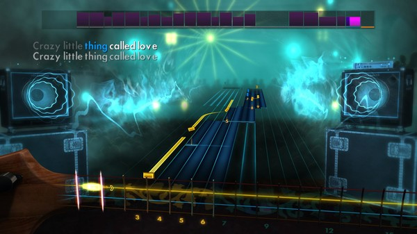 """Скриншот №4 к Rocksmith® 2014 – Queen - """"Crazy Little Thing Called Love"""""""