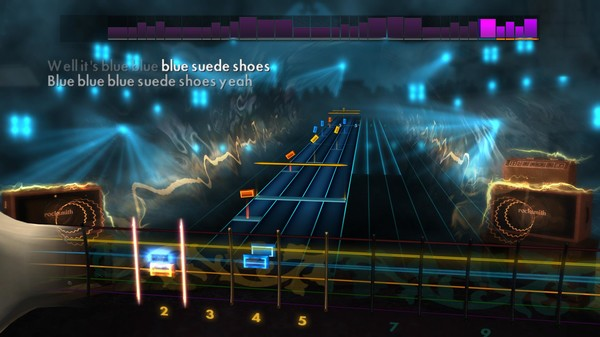 "Скриншот №2 к Rocksmith® 2014 – Carl Perkins - ""Blue Suede Shoes"""