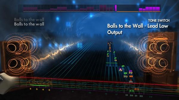 "Скриншот №4 к Rocksmith® 2014 – Accept - ""Balls To The Wall"""
