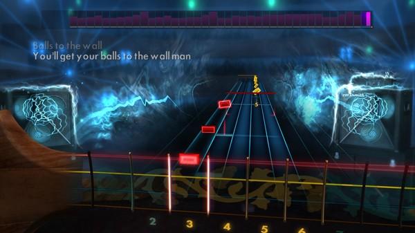 "Скриншот №1 к Rocksmith® 2014 – Accept - ""Balls To The Wall"""