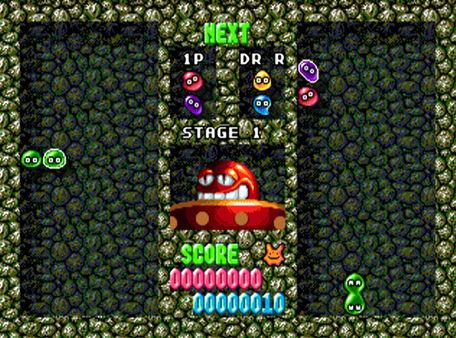 скриншот Dr. Robotnik's Mean Bean Machine 1