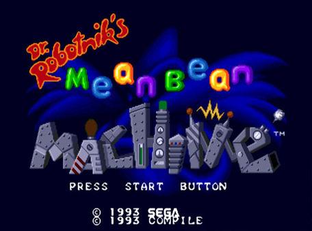 скриншот Dr. Robotnik's Mean Bean Machine 0