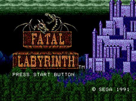 скриншот Fatal Labyrinth 0