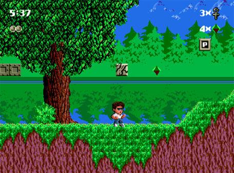 скриншот Kid Chameleon 2