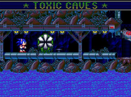 скриншот Sonic Spinball 1