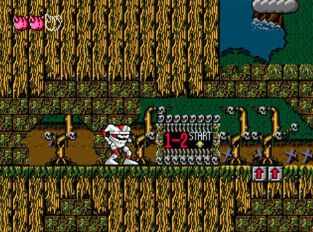 скриншот Decap Attack 3