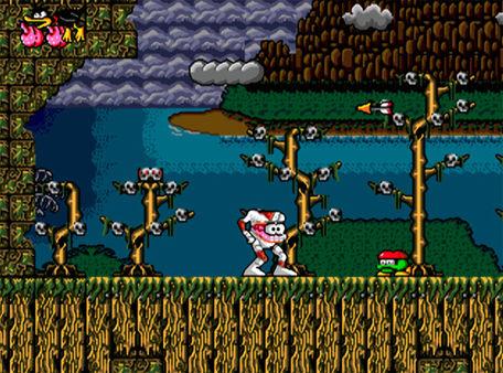 скриншот Decap Attack 1