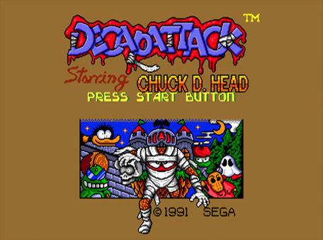 скриншот Decap Attack 0