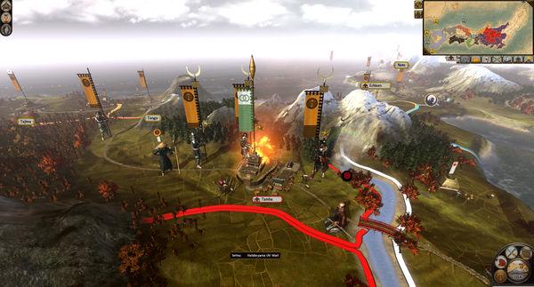 Скриншот №5 к Total War SHOGUN 2 - The Ikko Ikki Clan Pack
