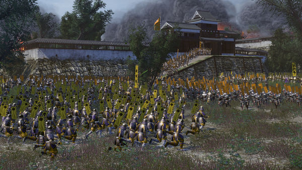 Скриншот №8 к Total War SHOGUN 2 - The Ikko Ikki Clan Pack