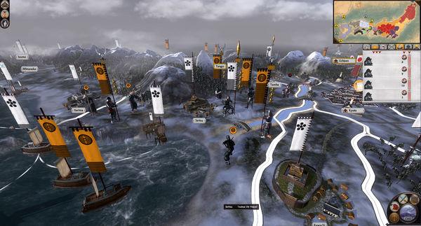 Скриншот №4 к Total War SHOGUN 2 - The Ikko Ikki Clan Pack