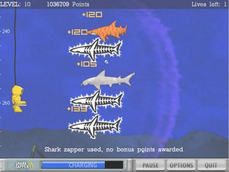 Typer Shark! Deluxe screenshot