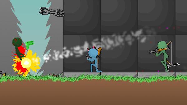 Скриншот №1 к Boring Man - Online Tactical Stickman Combat