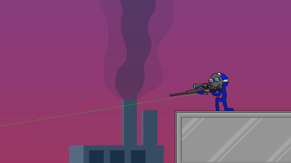 Скриншот №4 к Boring Man - Online Tactical Stickman Combat
