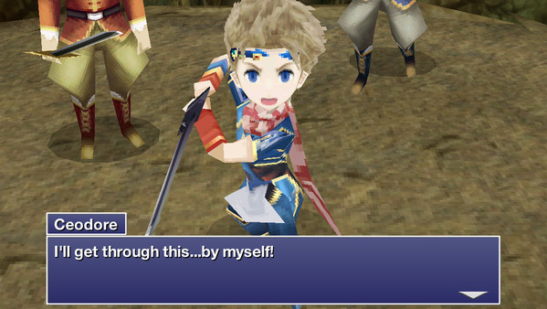 FINAL FANTASY IV: THE AFTER YEARS скриншот