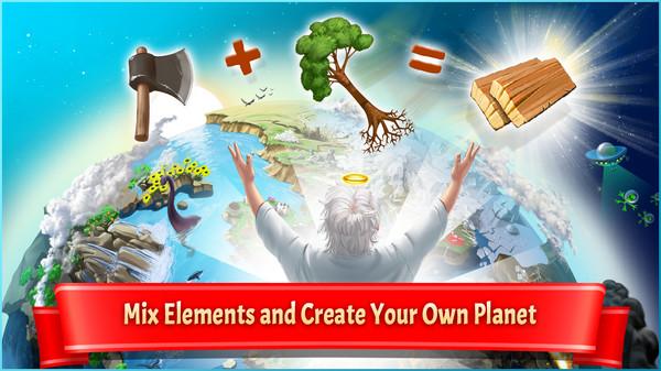 Скриншот №1 к Doodle God