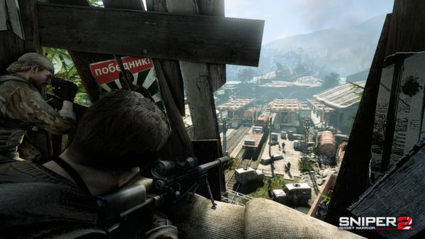 Скриншот №2 к Sniper Ghost Warrior 2