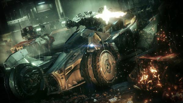 Скриншот №2 к Batman™ Arkham Knight - Prototype Batmobile Skin