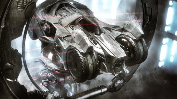 Скриншот №4 к Batman™ Arkham Knight - Prototype Batmobile Skin