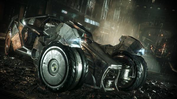 Скриншот №1 к Batman™ Arkham Knight - Prototype Batmobile Skin
