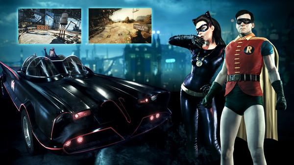 Скриншот №1 к Batman™ Arkham Knight - Batman Classic TV Series Batmobile Pack