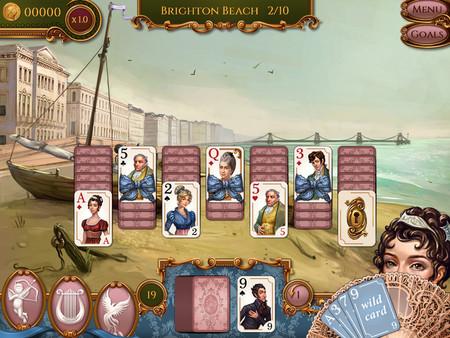 Screenshot of Regency Solitaire