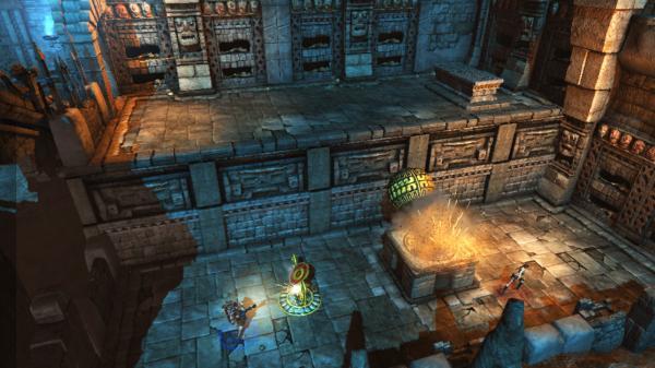 скриншот Lara Croft and the Guardian of Light 2