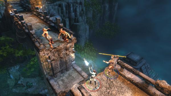 скриншот Lara Croft and the Guardian of Light 3