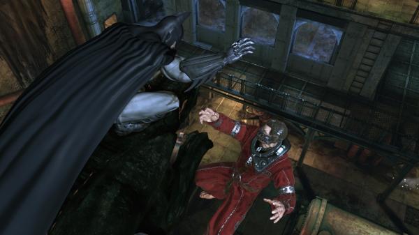 Скриншот №2 к Batman Arkham Asylum Game of the Year Edition