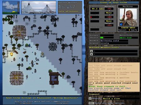 скриншот UnReal World 1