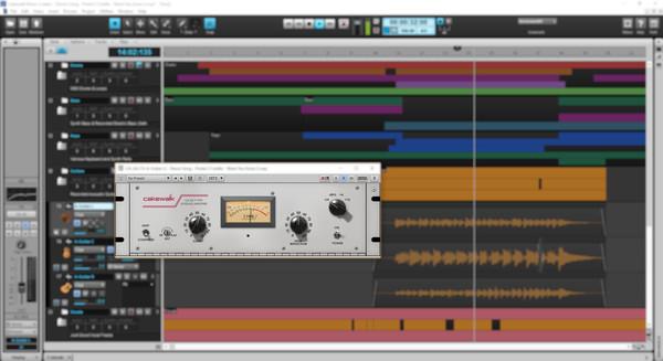 скриншот CA-2A T-Type Leveling Amplifier 2
