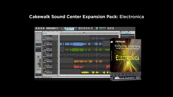 скриншот Cakewalk Expansion Pack - Electronica 0
