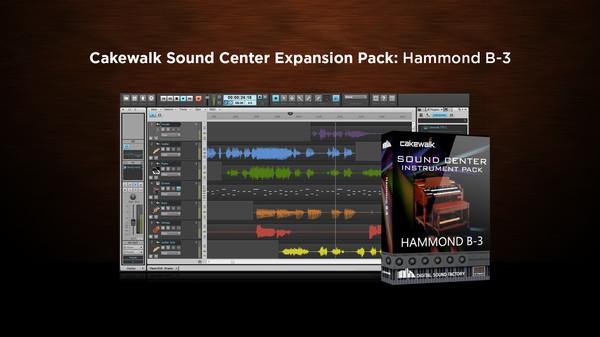 скриншот Cakewalk Expansion Pack - Hammond B-3 Organ 0