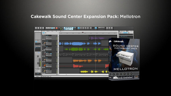 скриншот Cakewalk Expansion Pack - Mellotron 0