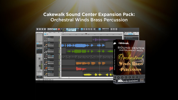 скриншот Cakewalk Expansion Pack - Orchestral Winds Brass Percussion 0