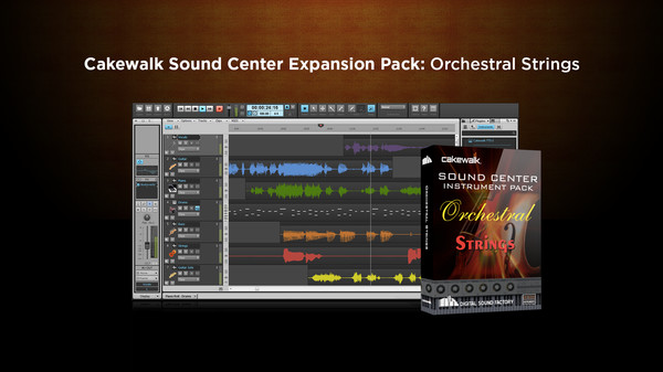скриншот Cakewalk Expansion Pack - Orchestral Strings 0