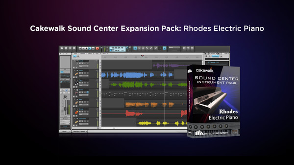 скриншот Cakewalk Expansion Pack - Rhodes Electric Piano 0