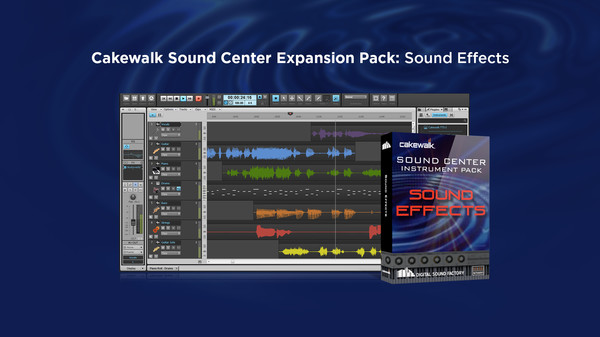скриншот Cakewalk Expansion Pack - Sound Effects 0