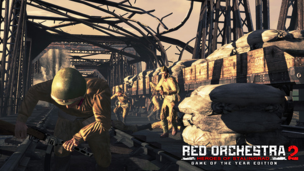 Скриншот №19 к Red Orchestra 2 Heroes of Stalingrad with Rising Storm