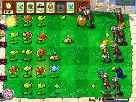Plants vs. Zombies GOTY Edition скриншот